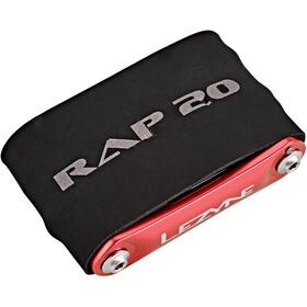 Lezyne Rap-20 Multitool, red/black